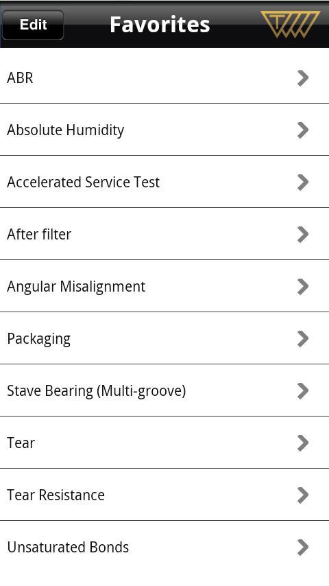 Technical Glossary- screenshot