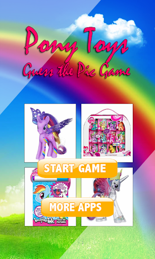 MLP Quiz Choice Toys Game