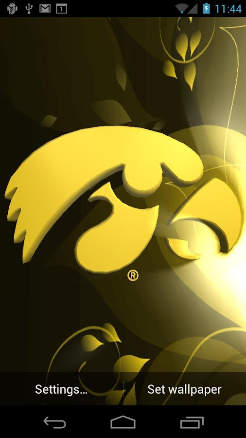 Iowa Hawkeyes Pix & Tone - screenshot