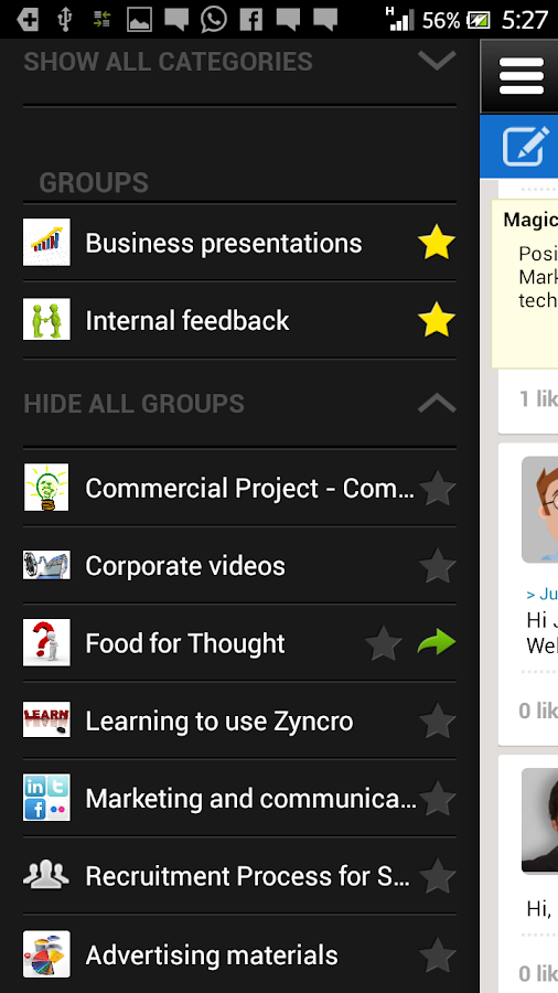 Zyncro 2.0- screenshot