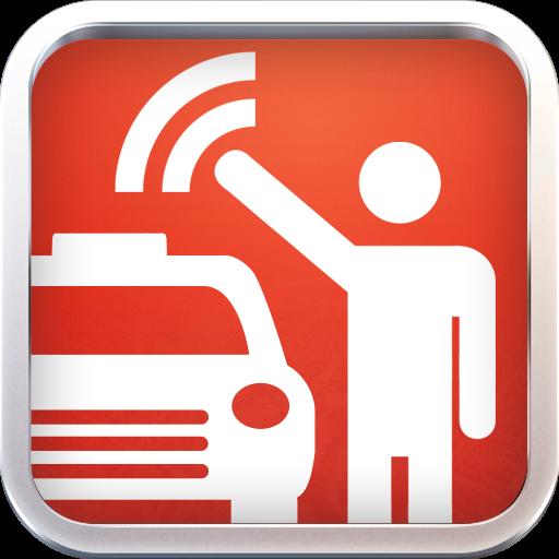 GetRide Taxi-Limo Booking App LOGO-APP點子
