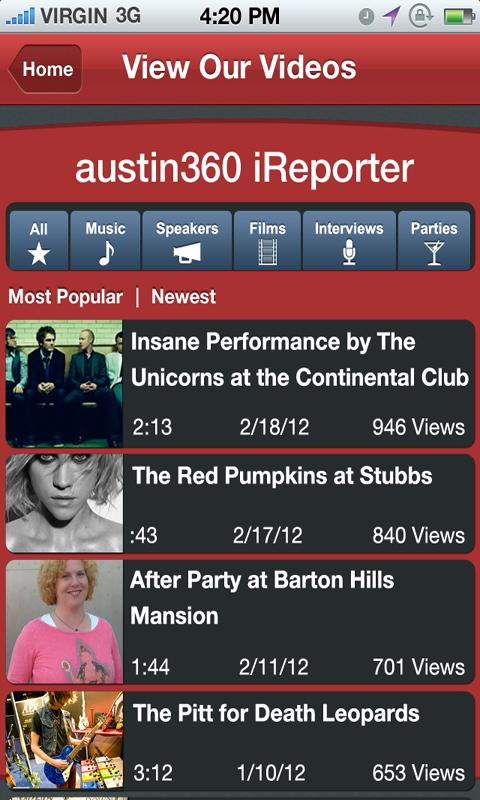 Statesman 360 iReporter - screenshot