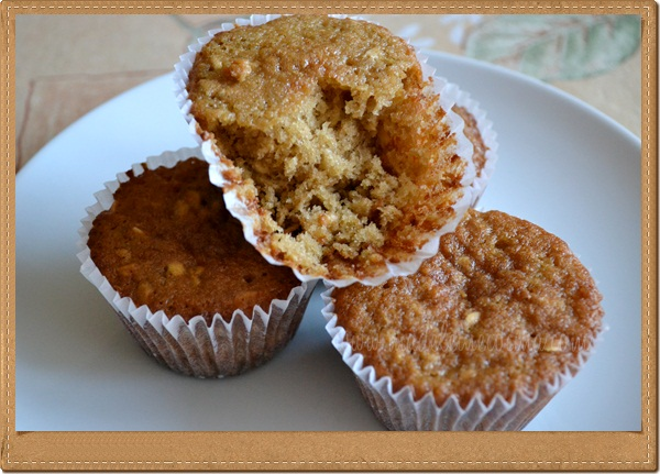 Oatmeal Raisin and Blueberry Muffins Recipe