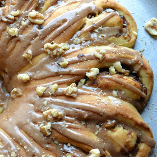 Apple Butter Danish Ring with Apple Spice Glaze