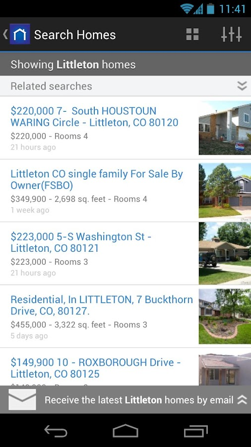 Trovit Homes - screenshot