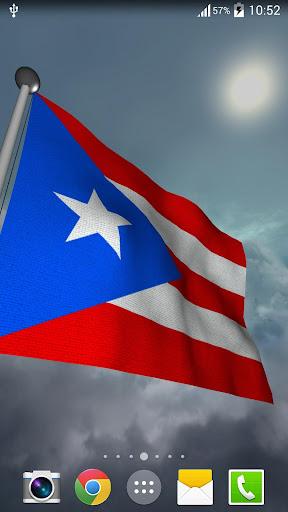Puerto Rico Flag - LWP