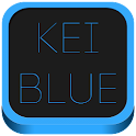 Kei Blue Icon Pack logo