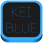 Kei Blue Icon Pack