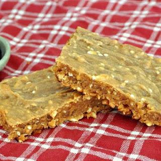 Peanut Butter Sesame Breakfast Bars.