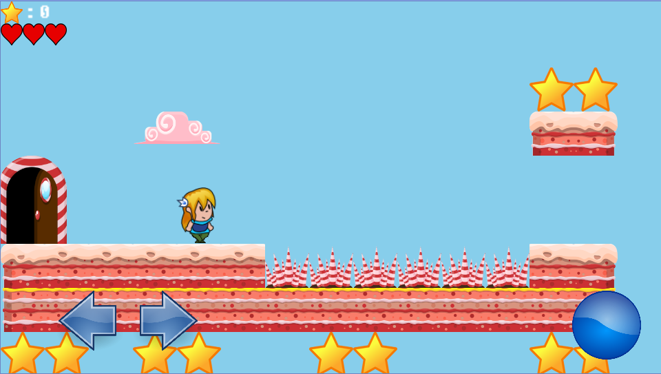 Sarah in CandyLand Free- screenshot