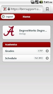 University of Alabama - screenshot thumbnail