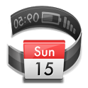 Calendar in Status bar icon