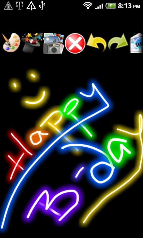 Doodle Text™ Photo Effects SMS - screenshot