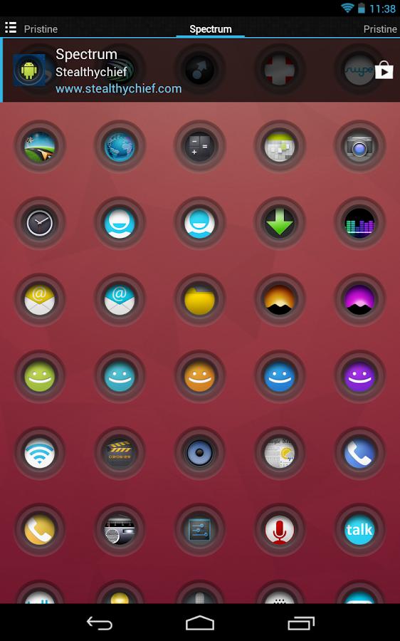 Spectrum - Icon Pack- screenshot
