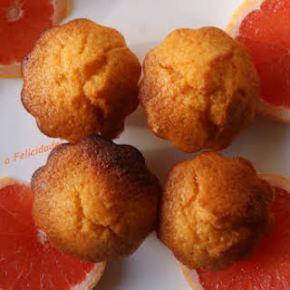 Grapefruit Cupcakes.