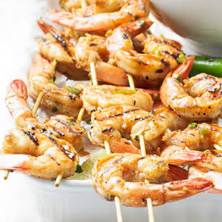 Grilled Chile-Lime Shrimp.