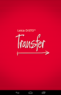 Leica DISTO™ transfer BT LE- screenshot thumbnail
