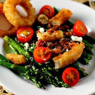 Asparagus Onion Ring Salad
