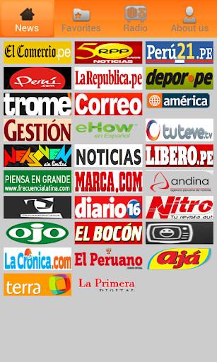 Perú Newspapers. Peru News.