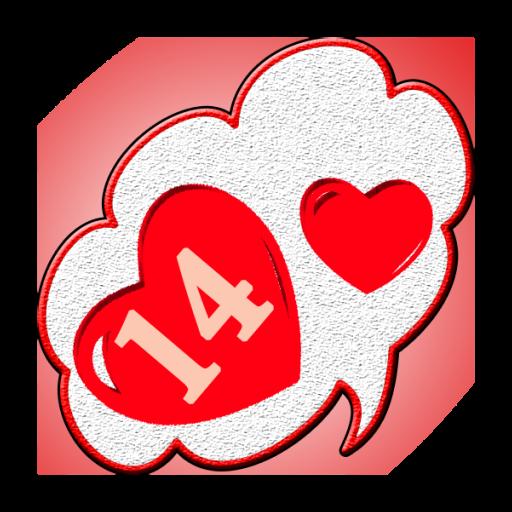 情人节爱卡 社交 App LOGO-APP試玩