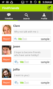 Find Friends! for WeChat - screenshot thumbnail