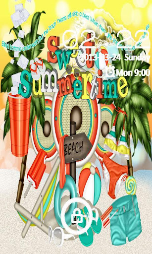 Sweet Summer GO LOCKER THEME