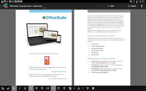 OfficeSuite 7 + PDF HD