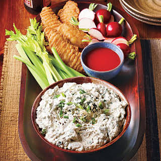 """Blue Cheese """"Hot Wing"""" Dip."""