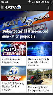 KATV Channel 7, Little Rock - screenshot thumbnail