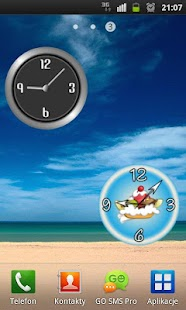 Classic Metal Clock - screenshot thumbnail