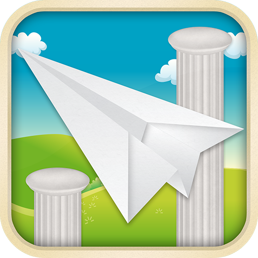 The Paper Airplane LOGO-APP點子