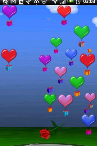 Valentine Heart Balloons Dlx!- screenshot