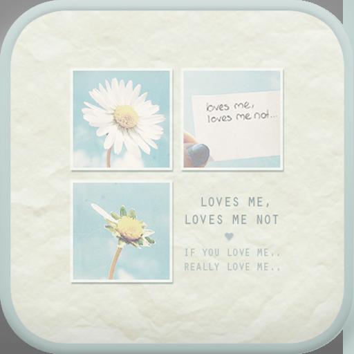 Loves me go launcher theme LOGO-APP點子