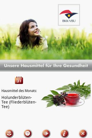 BKK VBU Hausmittel App - screenshot