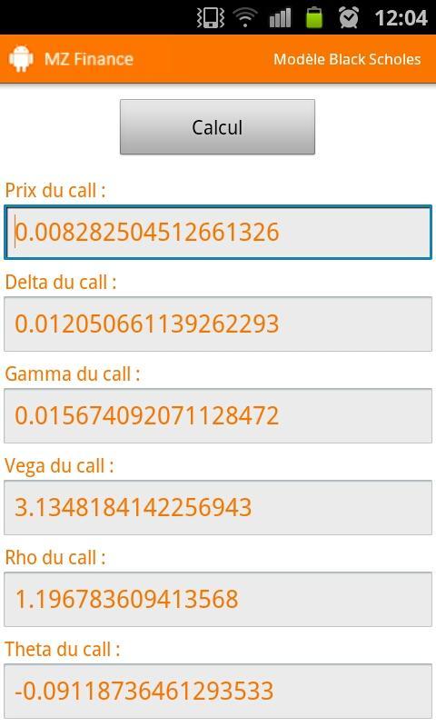 MZ Finance- screenshot