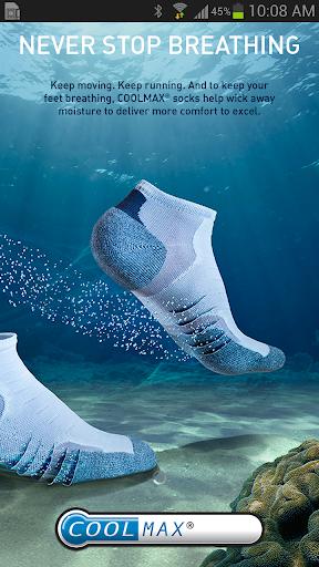 COOLMAX® socks