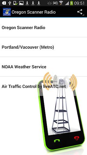 Scanner Radio Oregon FREE