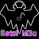 Bats! M3u streaming player icon
