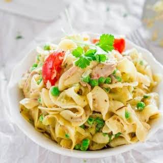 The Ultimate Tuna Noodle Casserole.