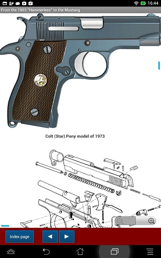"Colt model ""Mustang"" explained- screenshot"