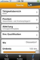 Screenshot of Pflege+Karriere