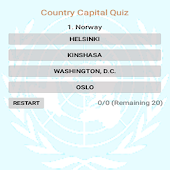Country Capital Quiz