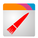 Wizz Theme Red Transparent icon
