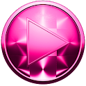 Poweramp Skin ROSA ESCOVADA icon