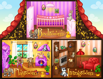 Baby House Decor Girl Games Screenshot Thumbnail