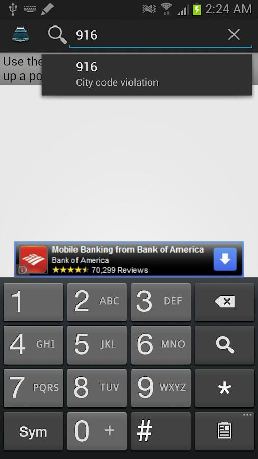 Police Scanner Radio Codes - screenshot