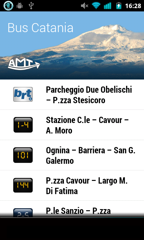 Bus Catania - screenshot