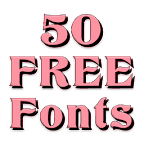 Fonts for FlipFont 50 #12