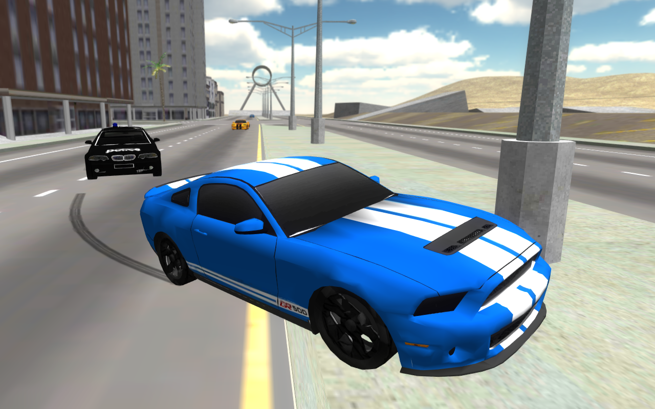 Police Car Drift 3D- screenshot