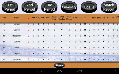 Blueline Stats for Hockey - screenshot thumbnail